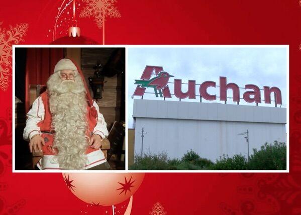 Giugliano, AAA Babbo Natale cercasi: l'iniziativa di Auchan