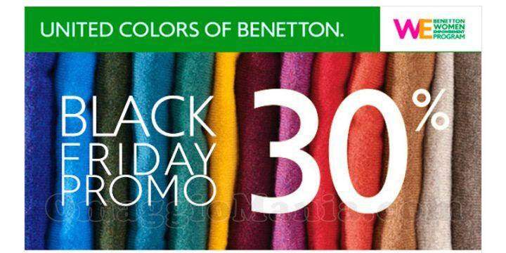 Black Friday da Sisley, Benetton, Intimissimi, Pinko e Cisalfa: tutte le offerte