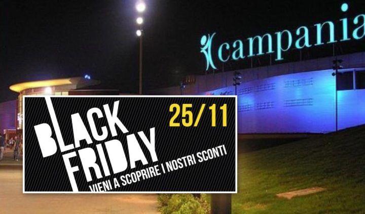 Black Friday al Centro Campania, sconti fino al 50 %. Ecco tutte le offerte