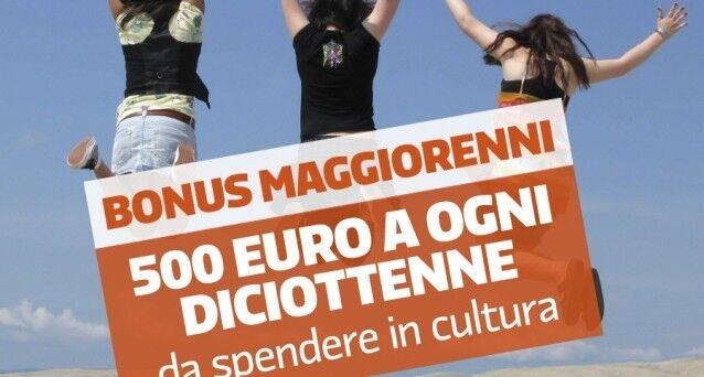 Bonus da 500 euro per diciottenni, ecco come ottenerlo
