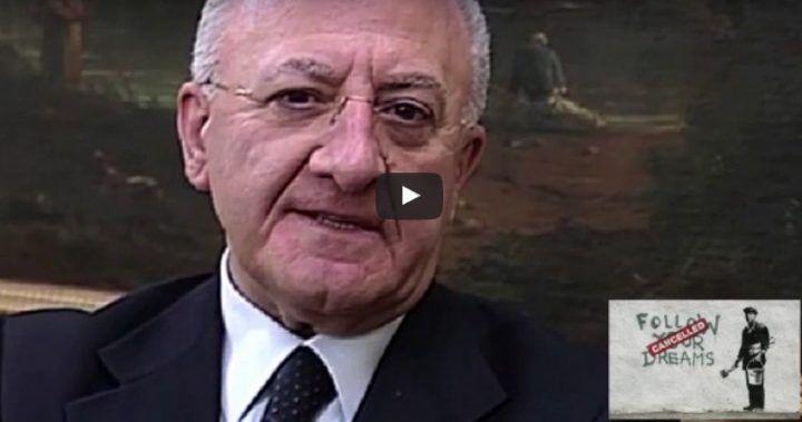"""Video di De Luca contro Bindi: """"Una cosa da infame, da ucciderla"""". VIDEO"""