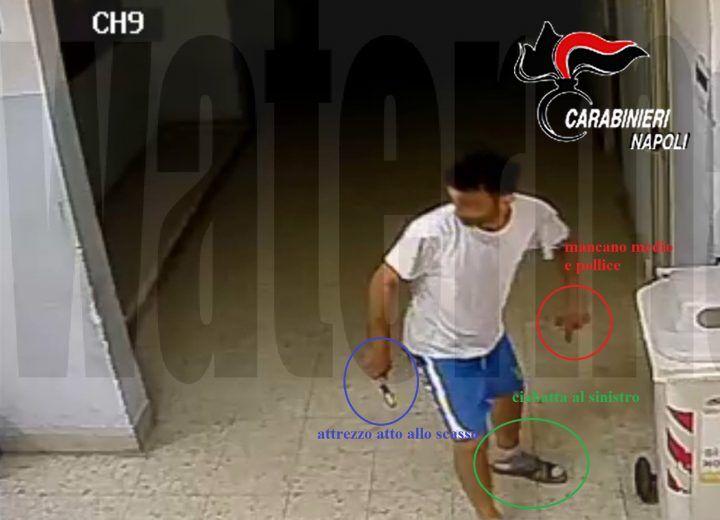 Napoli, ladro zoppo incastrato dalle telecamere. FOTO