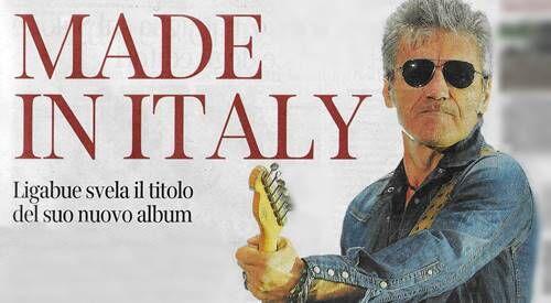 Ligabue made in Italy album. Le canzoni su Torrent per il download?
