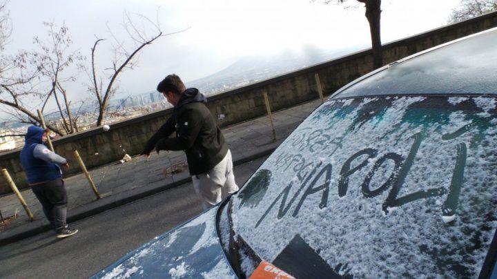 Meteo Napoli e Campania, arrivano freddo e pioggia