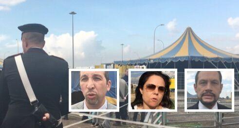 Giugliano, blitz dei carabinieri al Circo Orfei