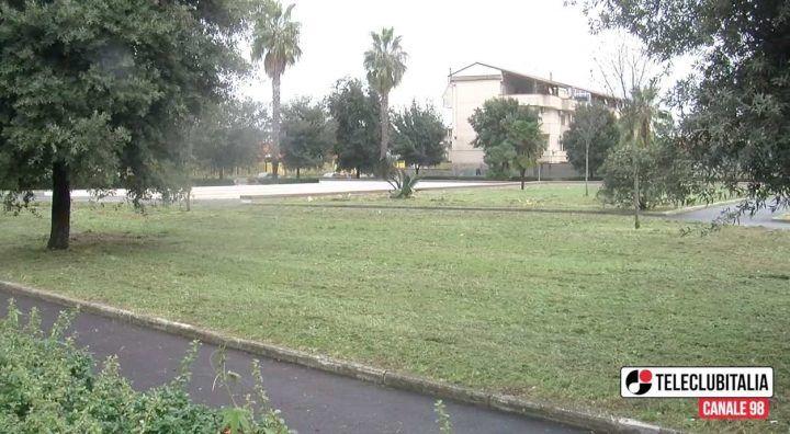 """Giugliano, il """"nuovo"""" parco di piazzetta dell'Acquario"""