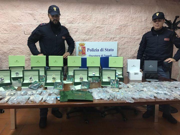 Rolex, scoperto a Napoli tesoro del falso. Sequestrati 210 esemplari