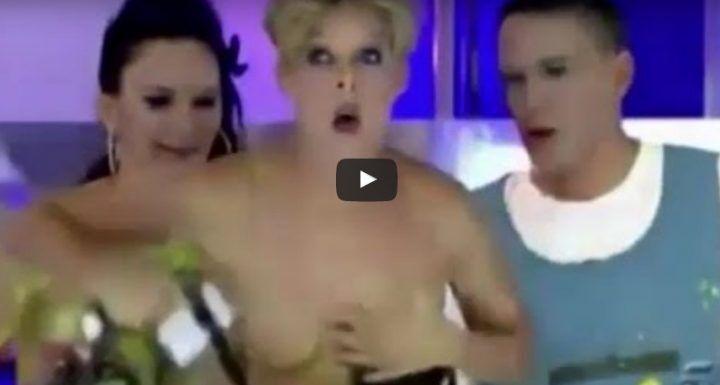 Video Tania Llasera nuda, incidente hot in diretta tv. VIDEO