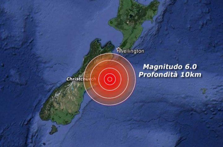 Terremoto Nuova Zelanda 13 novembre. Arriva lo tsunami. VIDEO