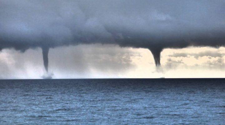 Allerta meteo, possibili trombe marine al sud. Ecco dove