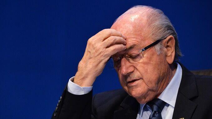 La conferma: Sepp Blatter sospeso per sei anni