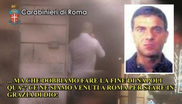 """Camorra a Roma, 300 anni di carcere per i """"Napoletani della Tuscolana"""""""