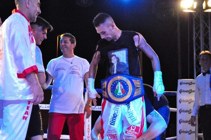 Boxe, Nicola Cipolletta difenderà il titolo di campione italiano nella sua Mugnano