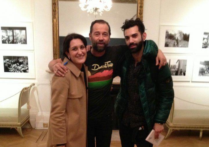 Due giuglianesi a Londra con Fabio Volo