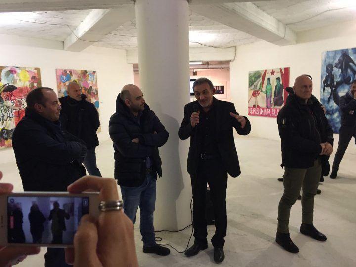 Roberto Saviano a Casoria: una stanza del museo Cam a lui intitolata