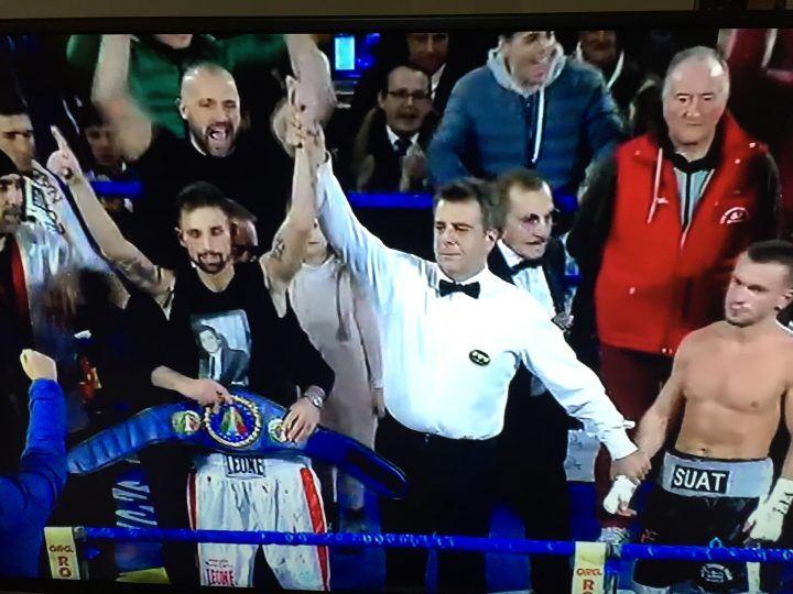 Boxe, Cipolletta si conferma campione nella sua Mugnano