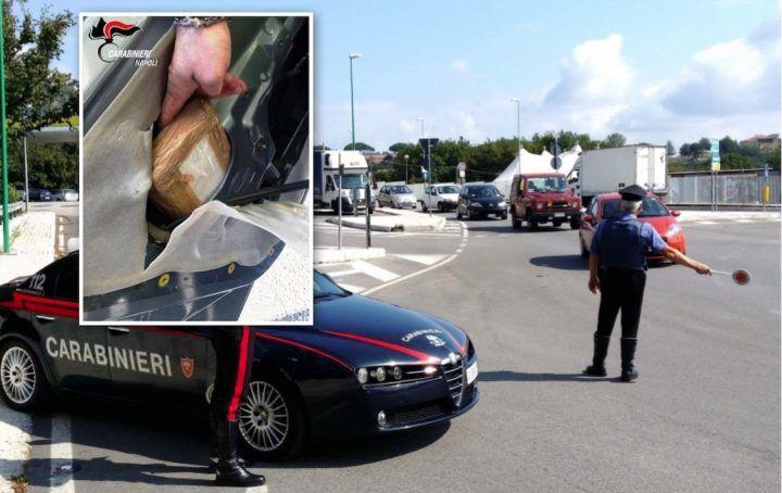 Camorra: tornano dalla Calabria con carico di droga, arrestati 3 affiliati al clan Sequino