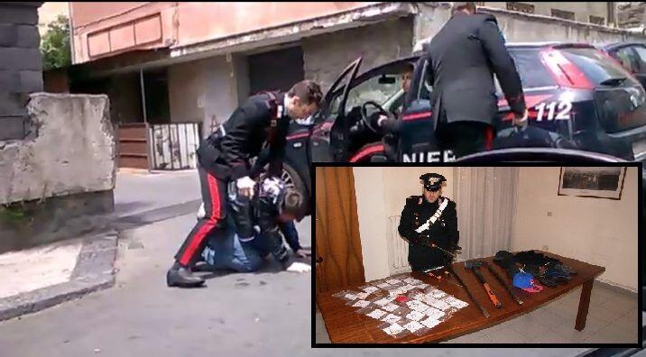 Da Calvizzano a Melito, banda semina il terrore e aggredisce i Carabinieri