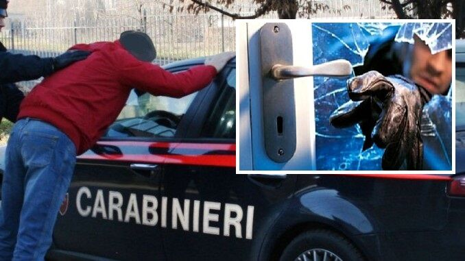 Giugliano, furti in zona Madonna delle Grazie: arrestato 41enne