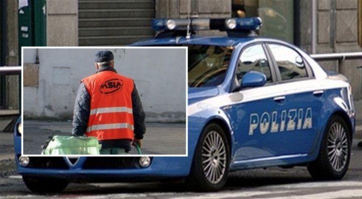 Napoli, finto netturbino arrestato per furto