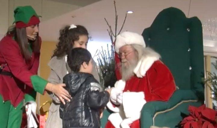 Giugliano, scelto il Babbo Natale Auchan: ha ascoltato i propositi dei bimbi
