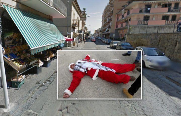 Giugliano, provano a rapinarlo con la tecnica di Babbo Natale. Lui reagisce e li mette in fuga