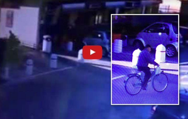 Giugliano, ladro in azione al supermercato Guerrera. IL VIDEO