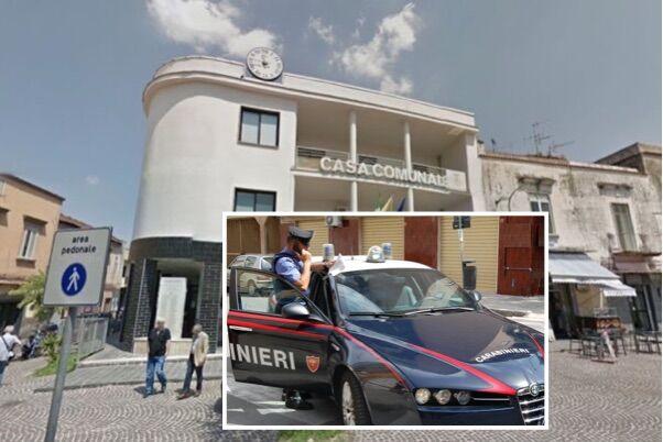 Mugnano, perquisizioni dei carabinieri negli uffici comunali ed a casa di un funzionario
