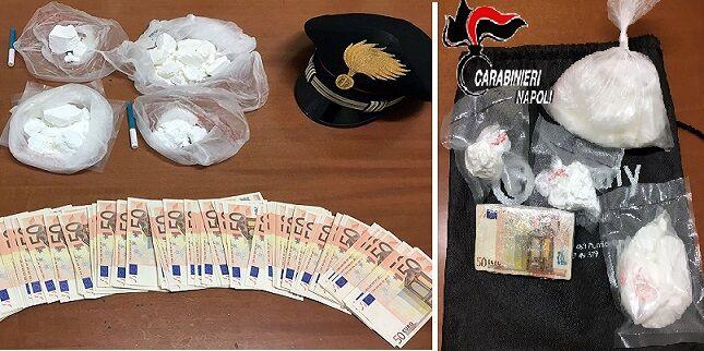 Operazione antidroga in diversi quartieri di Napoli: 6 arresti e sequestri