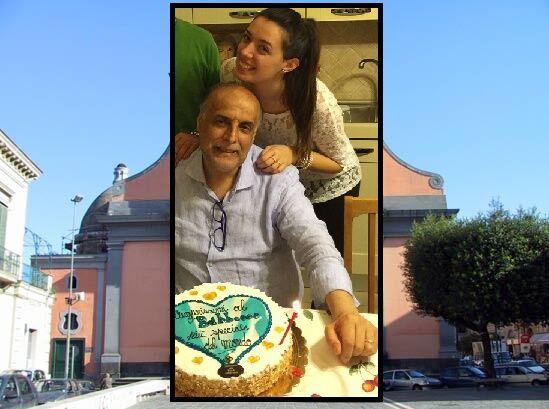 """Giugliano piange Franco Iacolare, la figlia: """"Non era un medico. Era un amico"""""""