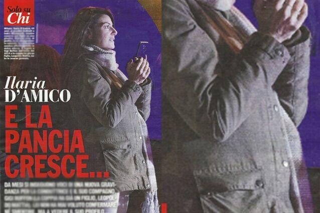 Ilaria D'Amico incinta di Buffon (FOTO), è il secondo figlio. FOTO
