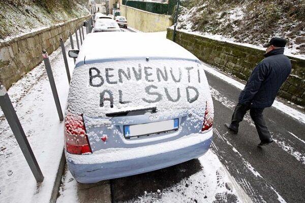 Meteo Napoli, freddo e gelo. Crollano le temperature