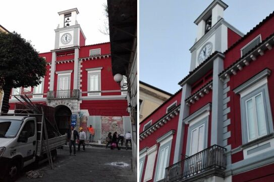 """Villaricca, finalmente un nuovo """"volto"""" per il palazzo comunale"""