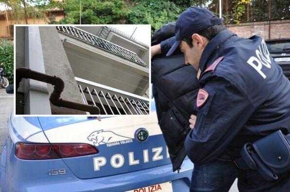 All'arrivo della polizia prova a calarsi dal balcone, arrestato ricercato a San Giorgio a Cremano