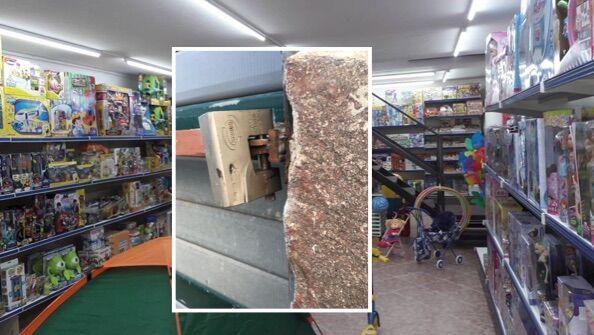 Giugliano, raid al negozio di giocattoli: lo sfogo del titolare