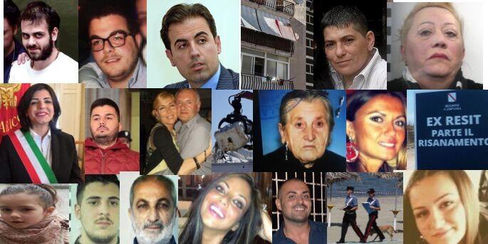 2016, un anno di cronaca: ecoballe, omicidi, arresti di camorra e delitti passionali