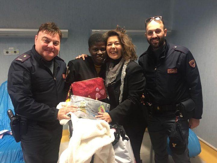 Napoli, 17enne africana incinta ricoverata in ospedale: gara di solidarietà dei poliziotti