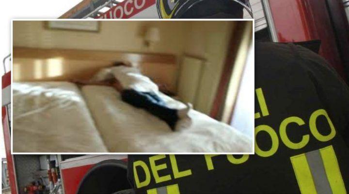 Teano, uomo nudo trovato sotto il letto: colpito da ictus