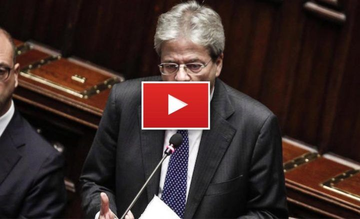 Camera, diretta video YouTube: voto fiducia al governo Gentiloni. VIDEO
