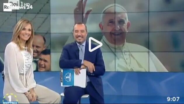 Video Papa Francesco telefonata a Unomattina. VIDEO