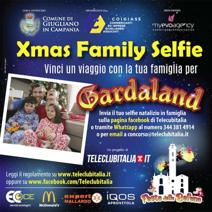 Manda una foto della tua famiglia e vinci un viaggio a Gardaland, un telefonino e un tablet
