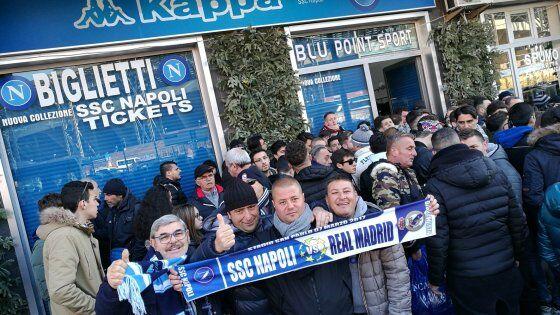 Biglietti Napoli-Real Madrid, la Procura apre un'inchiesta