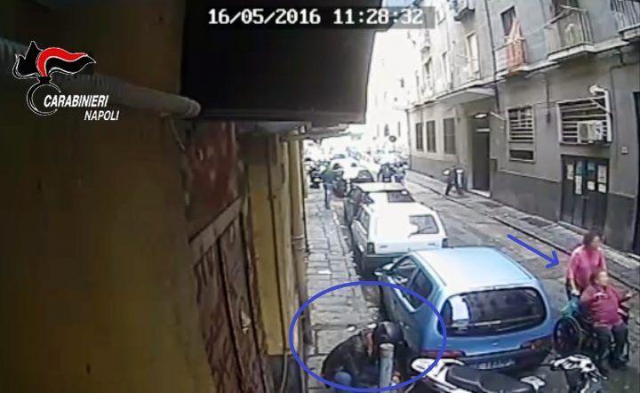 Napoli. Rapina choc da 5mila euro a una disabile, 3 arresti