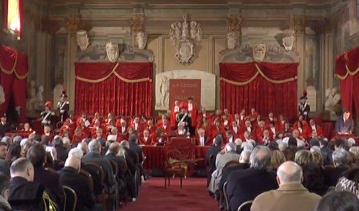 Napoli, inaugurato l'anno giudiziario