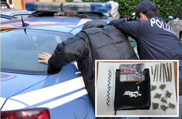 Pozzuoli, pusher tenta la fuga alla vista degli agenti: denunciato 20enne di Giugliano