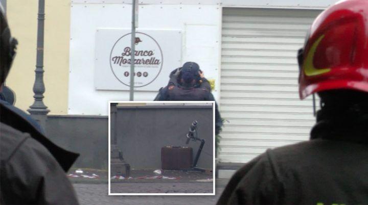 Qualiano, bomba esplosa: c'è l'ombra del terrorismo anarchico?
