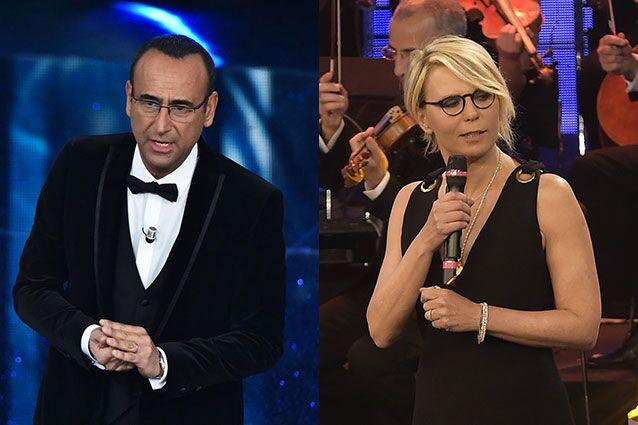Sanremo 2017, Maria De Filippi e Carlo Conti alla conduzione?