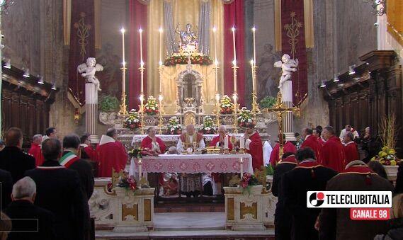 Giugliano, San Giuliano Martire: celebrazione solenne con il clero giuglianese