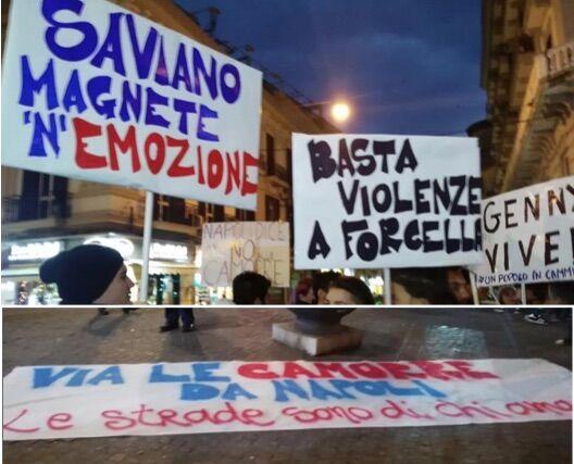 Napoli, sparatoria con bimba ferita: manifestazione a Forcella contro la camorra