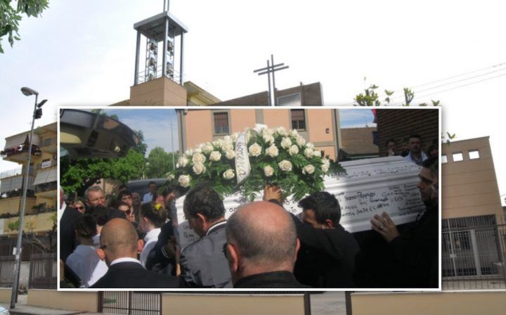 Sant'Antimo in lutto per la morte di Francesco, ieri l'ultimo saluto